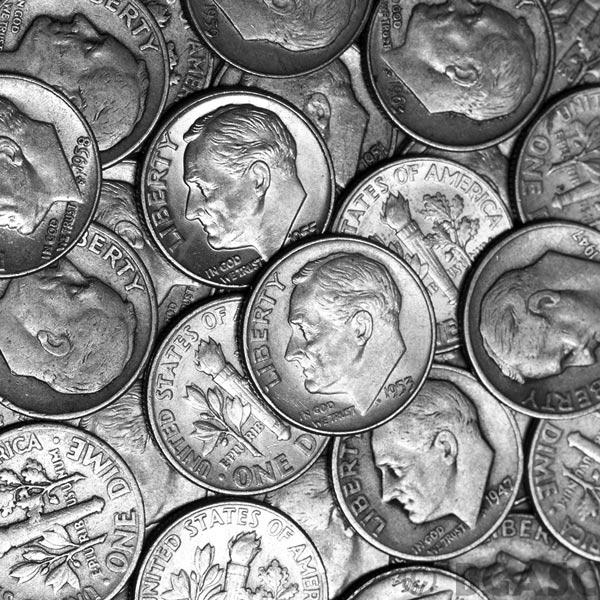 Junk Silver Dimes