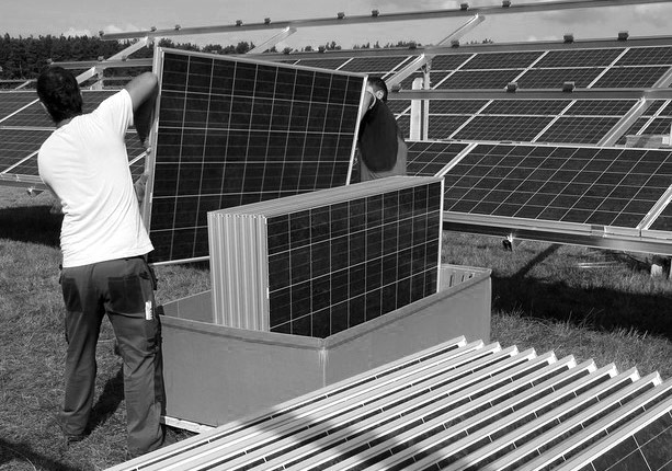 Demand for silver is up partly because of solar panels